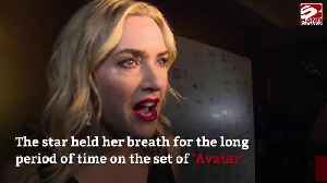 Kate Winslet held her breath underwater for eight minutes [Video]