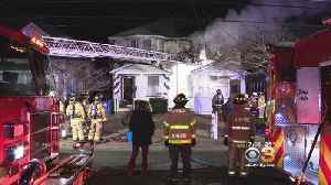 Fire Crews Rush To Place Burlington County House Fire Under Control [Video]
