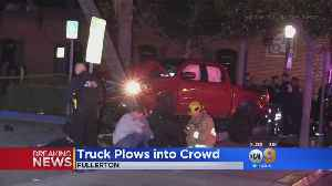Driver Arrested For Striking Nine Pedestrians In Fullerton [Video]