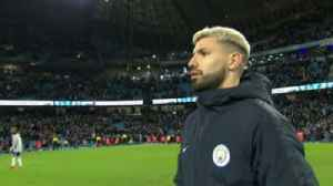 Ref hides ball from hat-trick hero Aguero! [Video]