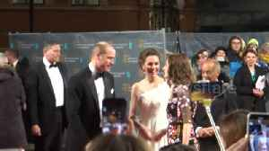 News video: Kate Middleton and Prince William's red carpet arrival