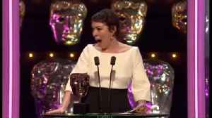 Olivia Colman Wins Best Actress At The Baftas For 'The Favourite' [Video]