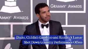 Some Of The Biggest Music Artists Snub The Grammy Awards [Video]