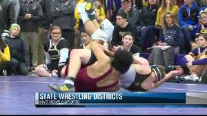 Iowa state wrestling districts part one [Video]