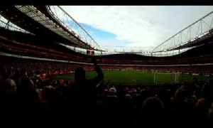 Adebayor Red Card Arsenal fans cam- Arsenal 5 - Tottenham 2 - Fan cam - Arsenalfantv.com [Video]