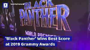 'Black Panther' Wins Best Score at 2019 Grammy Awards [Video]