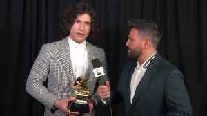 Dan + Shay Reflect On Their Very First GRAMMY Award [Video]