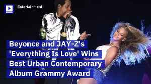 Beyonce and JAY-Z's 'Everything Is Love' Wins Best Urban Contemporary Album Grammy Award [Video]