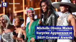 Michelle Obama Makes Surprise Appearance at 2019 Grammy Awards [Video]
