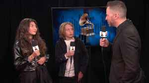 News video: Chris Cornell's Kids Open Up About Accepting Their Dad's GRAMMY Award On Stage