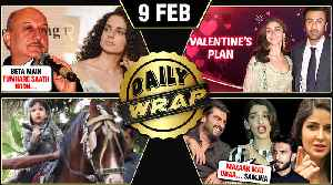 Ranbir Alia Valentines Plan, Anupam Kher Supports Kangana, URI 200 Crores | Top 10 News [Video]