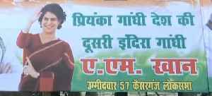 Lucknow decked up with posters ahead of Priyanka Gandhi's visit [Video]