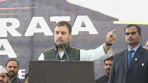 PM Modi has no credibility left: Rahul Gandhi at Naidu's strike [Video]