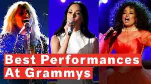 Grammys 2019 Lights Up With Fiery Female Performances [Video]