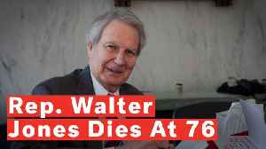 North Carolina Rep. Walter Jones Dies At 76 [Video]