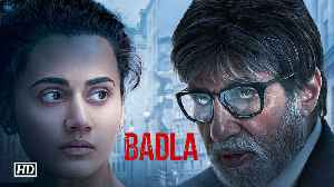 Shah Rukh unveils FIRST LOOK of 'BADLA'| Taapsee & Amitabh [Video]