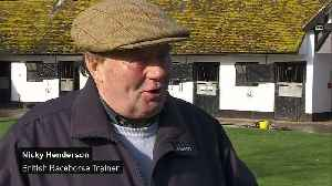 News video: Blow to UK horse racing as new cases of equine flu found