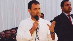 News video: Rahul Gandhi says PM Modi fail, attacks Modi govt's  5 year | Oneindia News