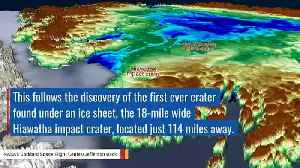 A Suspected Second Meteorite Impact Crater Found Under Greenland Ice: NASA [Video]