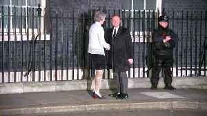 Theresa May welcomes Maltese PM to Downing Street [Video]