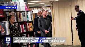 Jimmy Carter Wins Grammy for Audiobook 'Faith: A Journey for All' [Video]