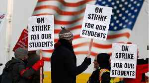 Denver Teachers Public School Teachers Walk Out In Strike Over Wages [Video]