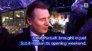 Liam Neeson's 'Cold Pursuit' Tanks at Box Office Following Racial Controversy [Video]