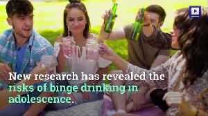 Heavy Drinking Affects Emotional Center in Teen Brains [Video]