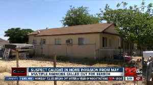 Suspect caught in home invasion [Video]