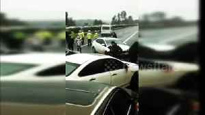 Major pile-up on Chinese motorway kills five on last day of Lunar New Year holiday [Video]