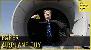 Paper Airplane Guy // 60 Second Docs [Video]