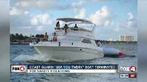 Coast Guard stops illegal charter boat 'Sea You Twerk' [Video]
