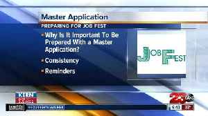 Kern Back In Business: Helpful tips to master your job application [Video]