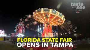 2019 Florida State Fair opens in Tampa | Taste and See Tampa Bay [Video]