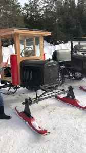 Awesome Model T Snowmobile Showcase [Video]