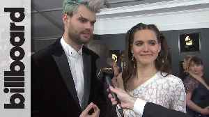 Sofi Tukker Talks Social Media and Apple Music at 2019 Grammy Awards | Billboard [Video]