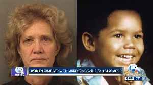 Mother arrested for felony murder of her son 33 years later [Video]