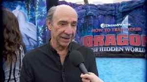 F. Murray Abraham Plugs His New Project At 'How To Train Your Dragon' Premiere [Video]