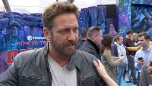Gerard Butler Talks About Shedding Tears For 'How to Train Your Dragon: The Hidden World' [Video]
