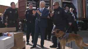 The Vice President Visits The Entry Port In Baltimore [Video]