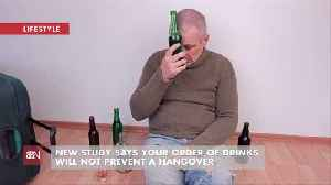 There Is No Magic To Preventing A Hangover If You Are Over Drinking [Video]