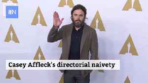 Casey Affleck Is Learning That Directing Is Not An Easy Job [Video]