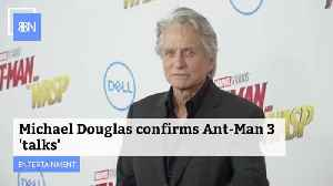 Michael Douglas Is Ready For 'Ant-Man 3' [Video]