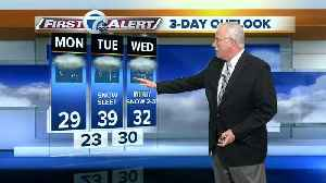 Another messy mix expected this week by Tuesday [Video]
