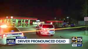 Driver involved in parking lot crash pronounced dead [Video]