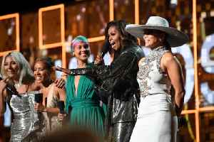 News video: Michelle Obama Makes Surprise Appearance at 2019 Grammy Awards