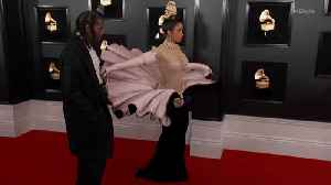Right Now: Cardi B and Offset Grammys 2019 Red Carpet [Video]