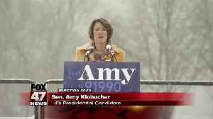 Minnesota Sen. Amy Klobuchar enters presidential race [Video]