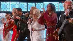Dolly Parton Starred in Her Own Celebrity-Filled Grammys Tribute Performance [Video]
