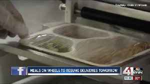 Meals on Wheels hopes to resume deliveries after weather cancellations [Video]